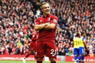Calciomercato, quando riaprirà la finestra delle trattative Xherdan Shaqiri porterà un bel bottino nelle casse del Liverpool