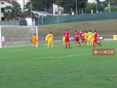 2L, il Castello vince il derby battendo il Coldrerio per 1 a 0 (foto del goal)