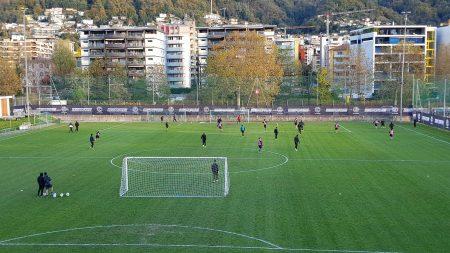 Lugano, altro lavoro tattico a tutto campo (in condizioni climatiche simili al mattino) nella seconda sessione di giornata