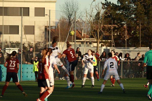 LNA femminile, nulla da fare nemmeno nel testa-coda di Balexert: il Lugano viene dominato e superato dalla capolista Servette