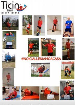 Team Ticino, #noicialleniamoacasa, lo slogan del Team Mendrisiotto