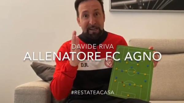 FC Agno, bellissimo video dei ragazzi, #iorestoacasa (VIDEO)