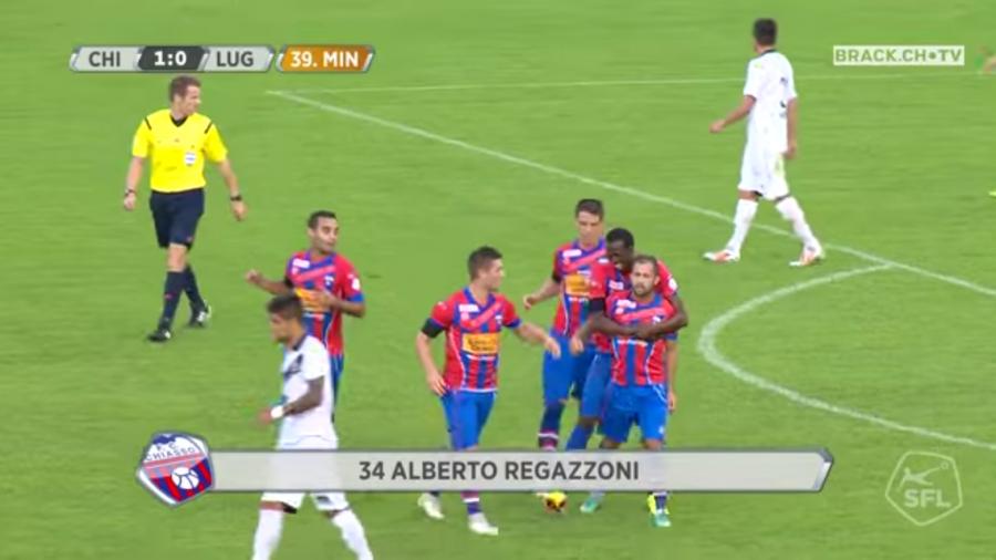 AMARCORD, quando il Chiasso batteva il Lugano.. (VIDEO)